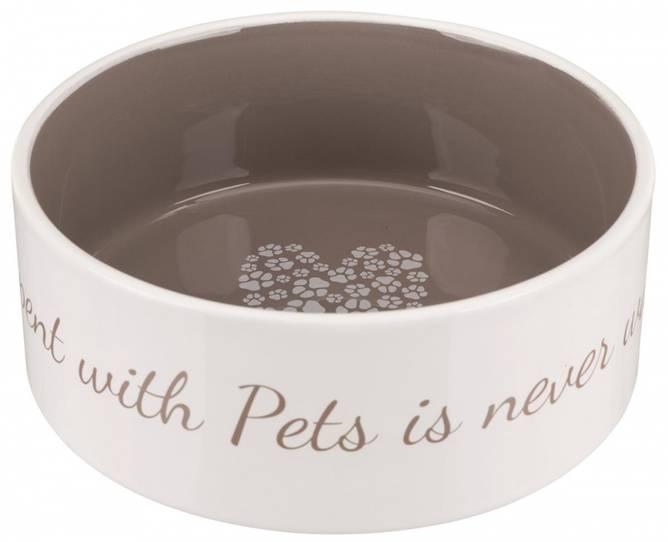 Bilde av Pet's Home Keramikkskål  Brun